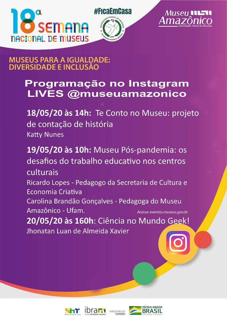 18ª Semana Nacional de Museus